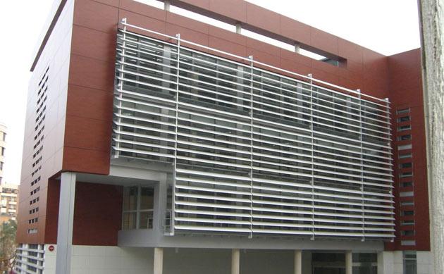 Louvers de aluminio monterrey airea condicionado for Puerta tipo louver